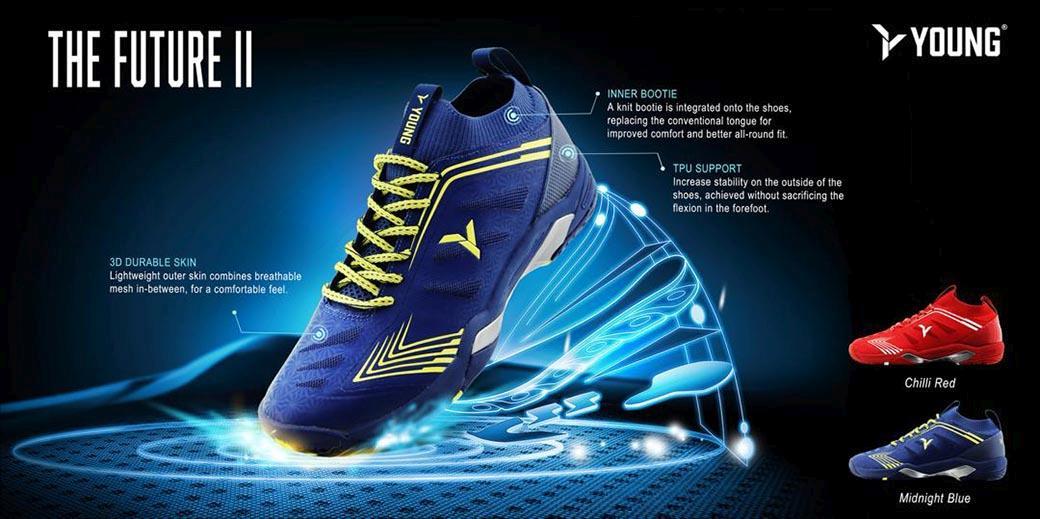 Badmintonové boty Future II