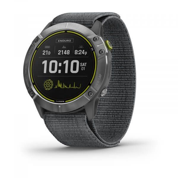 Garmin Enduro, Steel/Gray